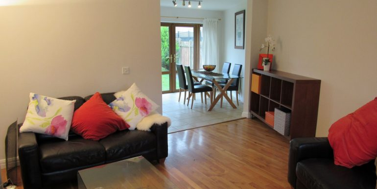2 canal drive open plan blind up